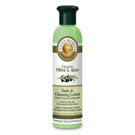 Tonic and Cleansing Lotion with Organic Olive and Aloe Vera 250ml