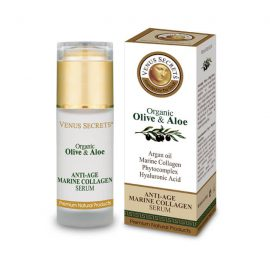 Anti-Age Marine Collagen Serum with Organic Olive and Aloe Vera 40ml