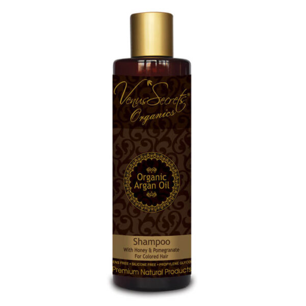 Shampoo with Argan Oil Honey and Pomegranate 250ml