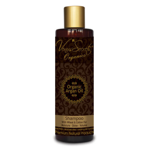 Shampoo with Argan Oil Wheat and Cotton 250ml