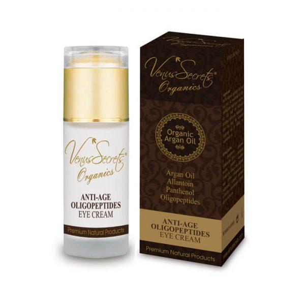 Anti-Age Eye Cream with Argan Oil and Organic Olive 40ml