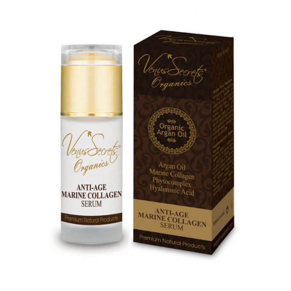 Anti-Age Marine Collagen Serum with Argan Oil and Aloe Vera 40ml