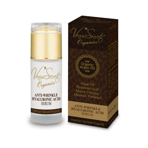 Anti-Wrinkle Serum with Argan Oil and Hyaluronic Acid 40ml