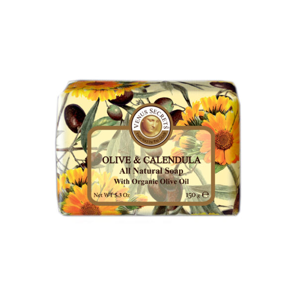 Soap-Olive-Oil-and-calendula-wrapped-150g