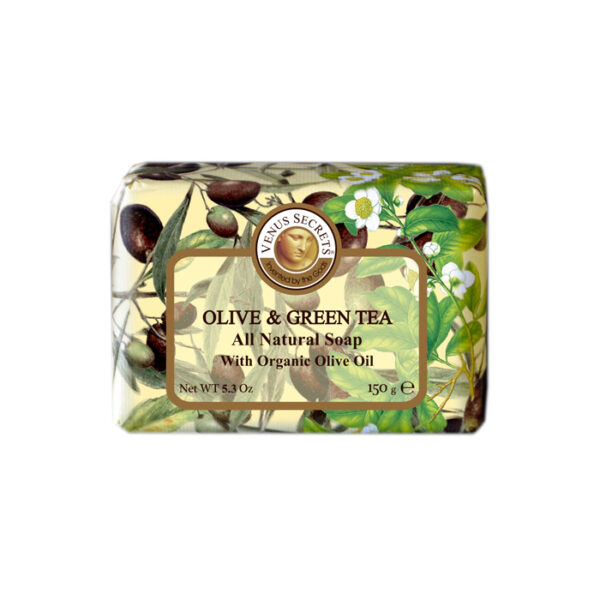 Soap-Olive-Oil-and-green-tea-wrapped-150g