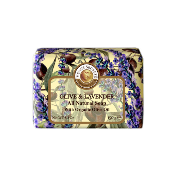 Soap-Olive-Oil-and-lavender-wrapped-150g
