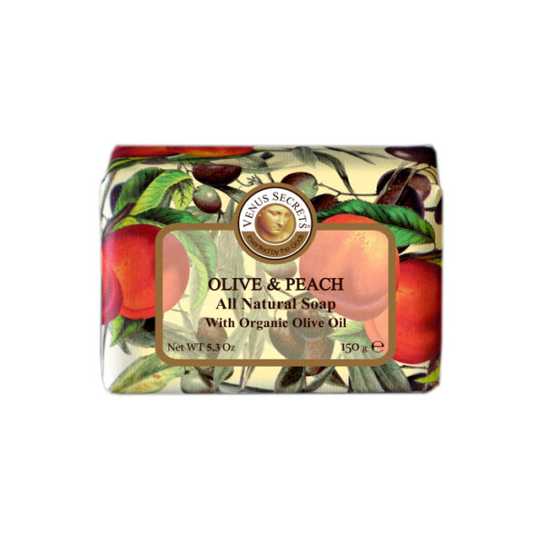 Soap-Olive-Oil-and-peach-wrapped-150g