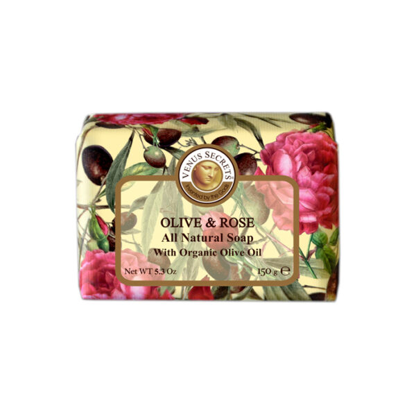 Soap-Olive-Oil-and-rose-wrapped-150g