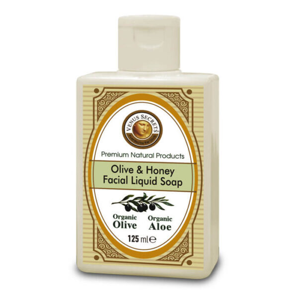 Aromatherapy with Organic Olive and Honey 125ml