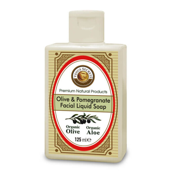 Aromatherapy with Organic Olive and Pomegranate 125ml
