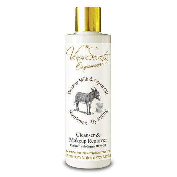 Cleanser and Makeup Remover with Donkey Milk and Argan Oil 250ml