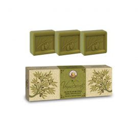 Gift Set Soap with Organic Olive Oil and Aloe Vera 300g