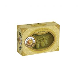 Soap-Olive-Oil-and-chamomile-coloured-box-125g