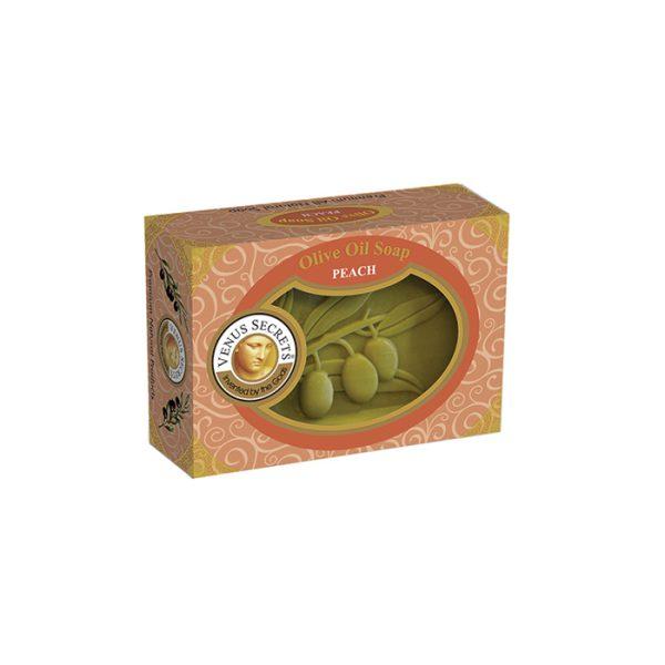 Soap-Olive-Oil-and-peach-coloured-box-125g