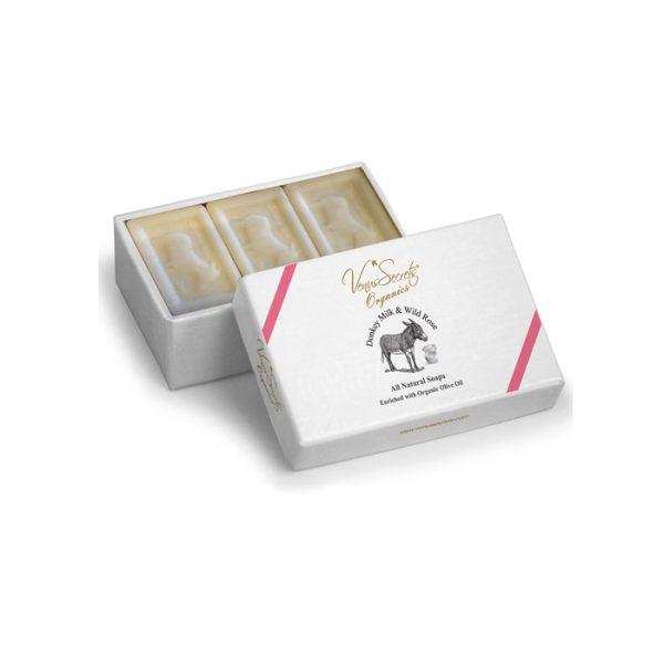 Soap-Donkey-Milk-and-wild-rose-3x150g
