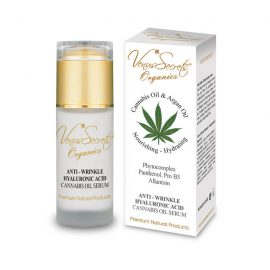 Anti-Wrinkle Hyaluronic Acid Serum with Cannabis Oil and Argan Oil 40ml