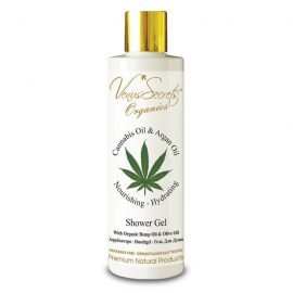 Shower Gel with Cannabis Oil, Organic Olive and Argan Oil 250ml