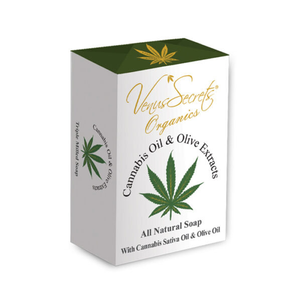 Soap-Cannabis-Oil-and-olive-extracts-150g