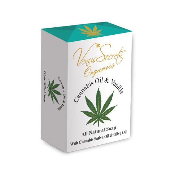 Soap-Cannabis-Oil-and-vanilla-150g
