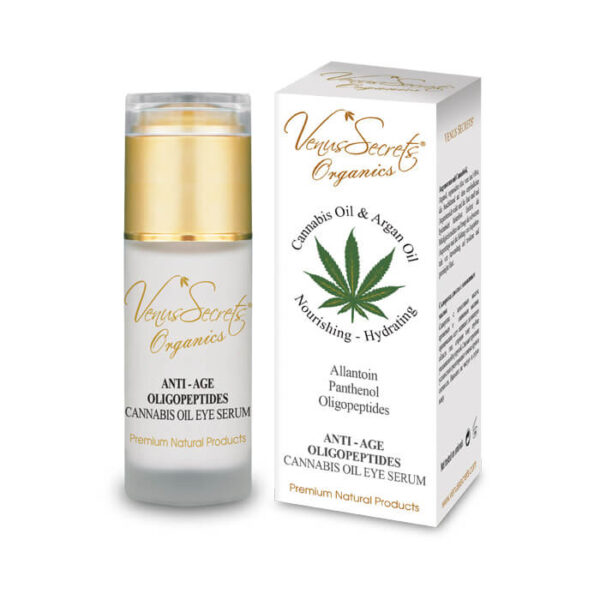 Anti-Age Eye Serum with Cannabis Oil and Argan Oil 40ml