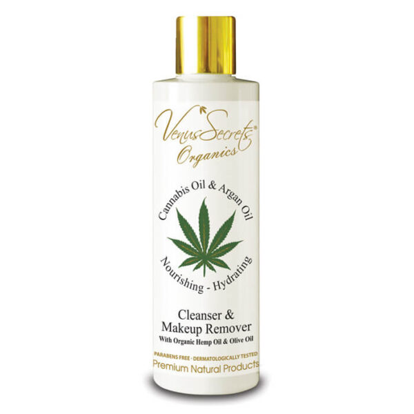 Cleanser and Makeup Remover with Cannabis Oil and Argan Oil 250ml