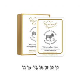 Face Mask Whitening Box with Donkey Milk and Argan Oil 150ml