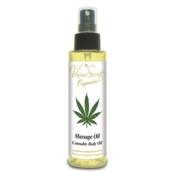 Massage Oil with Organic Cannabis Oil 100ml