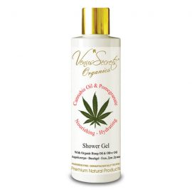 Shower Gel with Cannabis Oil, Organic Olive and Pomegranate 250ml