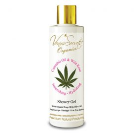 Shower Gel with Cannabis Oil, Organic Olive and Wild Rose 250ml