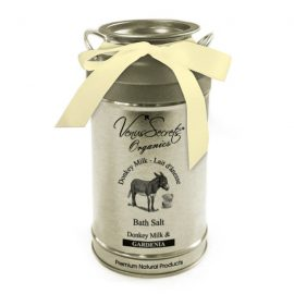 Bath Salt with Donkey Milk and Gardenia 400g