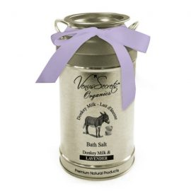 Bath Salt with Donkey Milk and Lavender 400g
