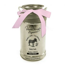 Bath Salt with Donkey Milk and Wild Rose 400g