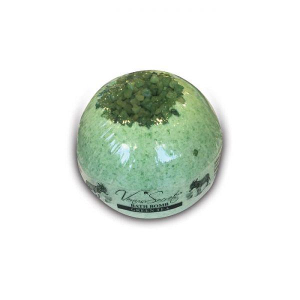 Bath Bomb with Donkey Milk and Green Tea 190g