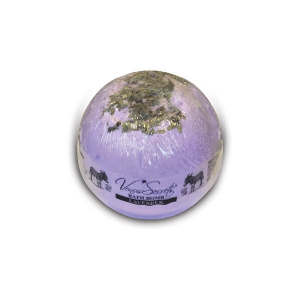 Bath Bomb with Donkey Milk and Lavender 190g