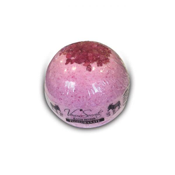 Bath Bomb with Donkey Milk and Pomegranate 190g