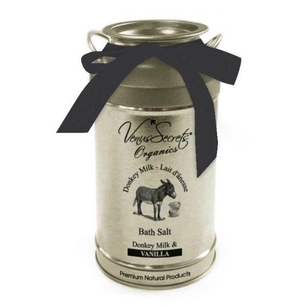 Bath Salt with Donkey Milk and Vanilla 400g