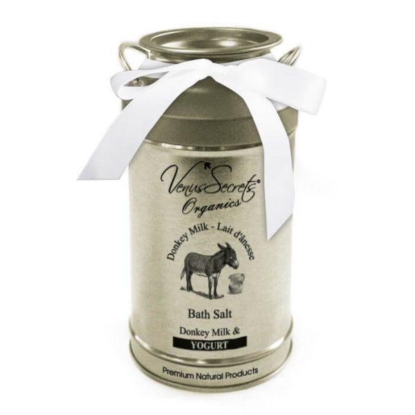 Bath Salt with Donkey Milk and Yogurt 400g