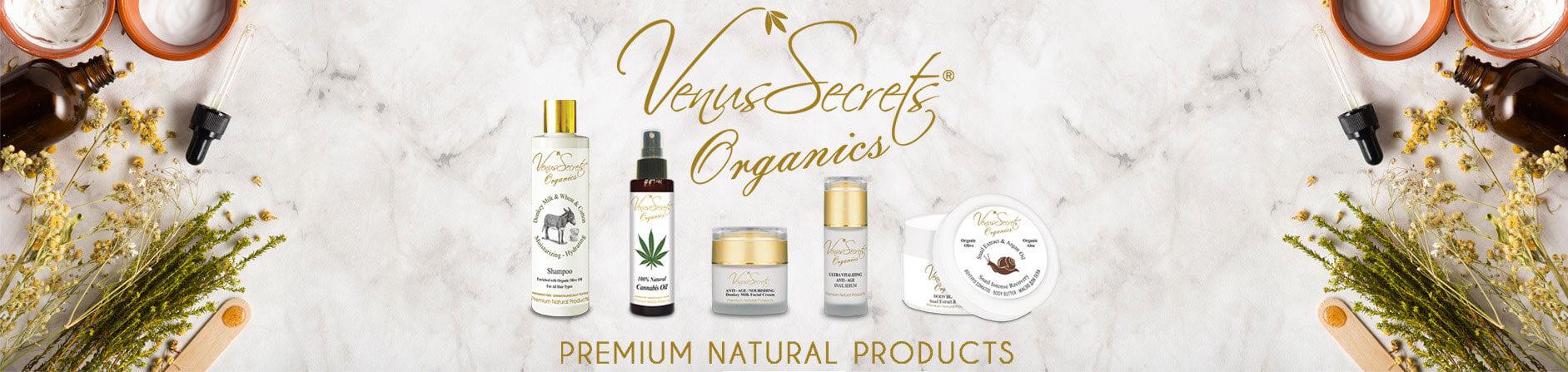 Venus Secrets Header banner