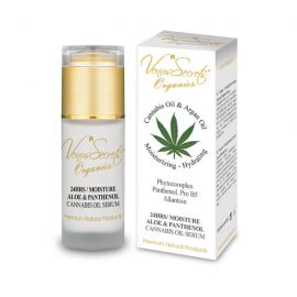 24 Hours Moisture with Cannabis Oil, Aloe Vera and Panthenol Serum 40ml