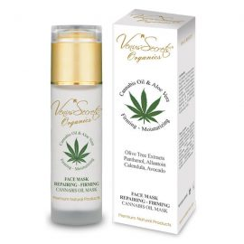 Face Mask Repairing-Firming with Cannabis Oil and Aloe Vera 80ml