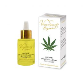 Organic Gold Face Oil with Refined Cannabis Oil 30ml
