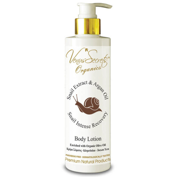Body Lotion with Snail Extract and Argan Oil 250ml