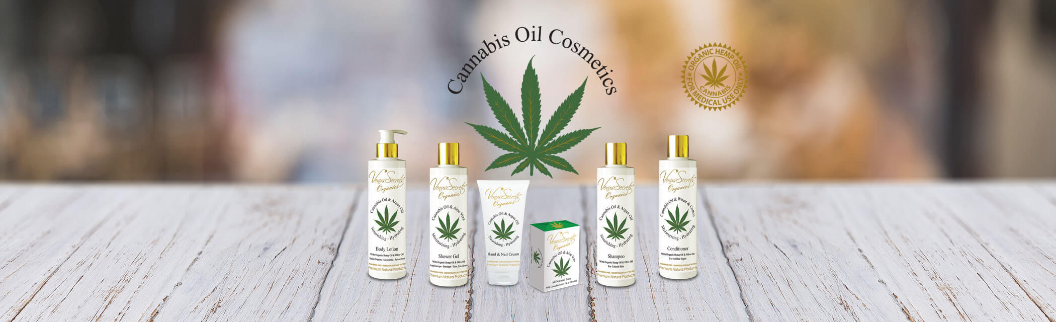 Venus Secrets Cannabis Oil Cosmetics