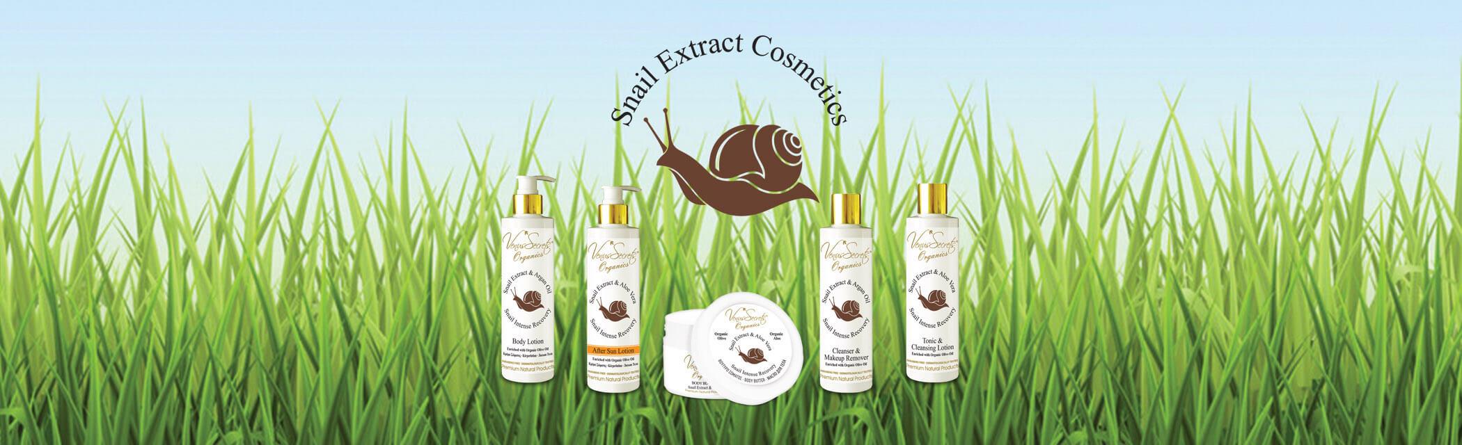 Venus Secrets Snail Extract Cosmetics