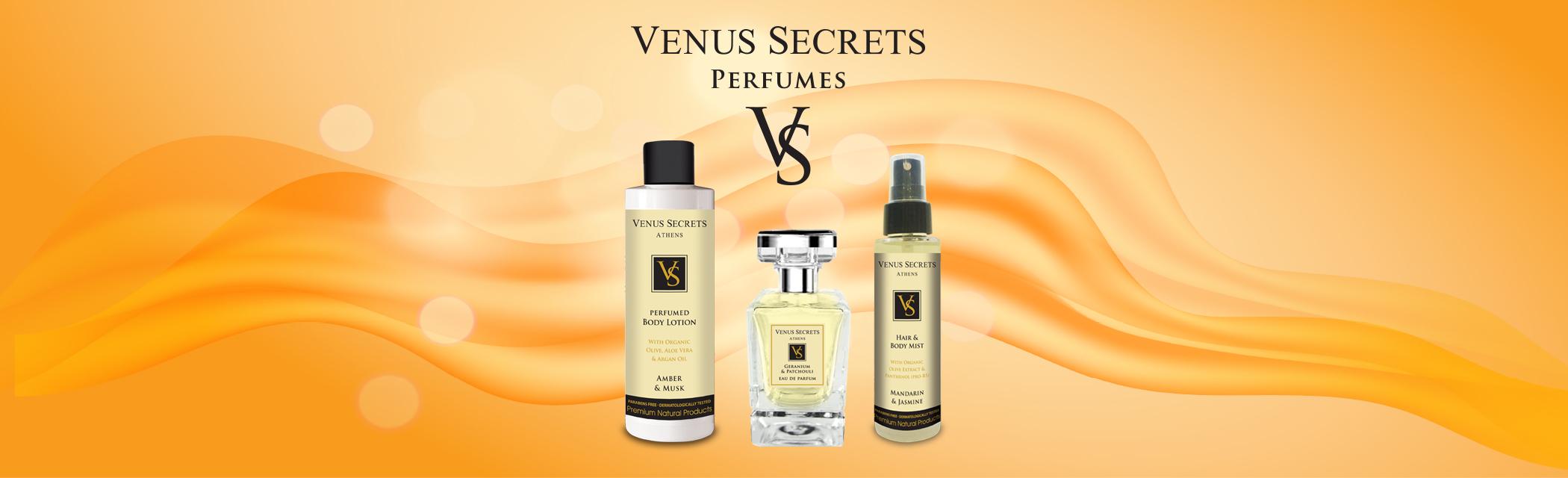 Venus Secrets Perfumes - Αρώματα Venus Secrets