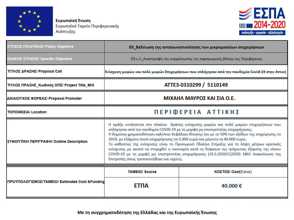 Espa Covid Info