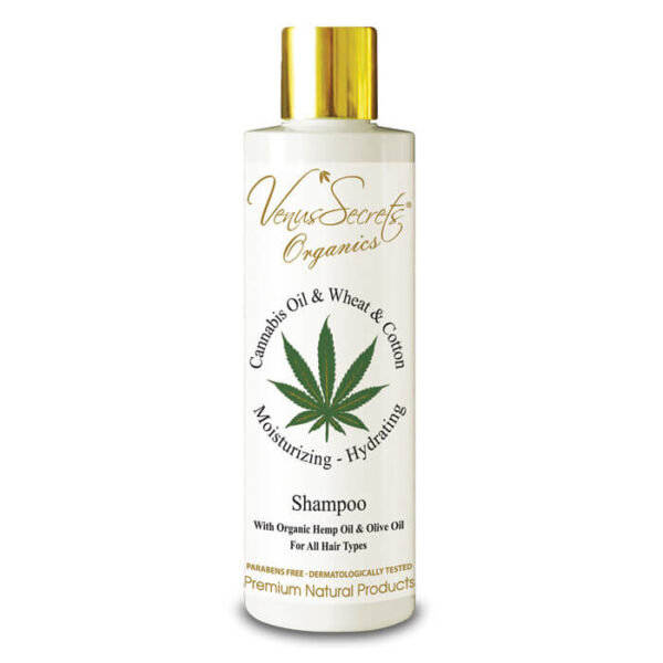 Shampoo with Cannabis Oil and Wheat 250ml