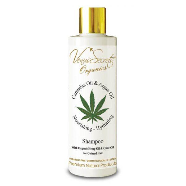 Shampoo with Cannabis and Argan Oil 250ml